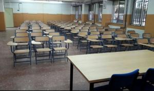Una de las aulas de la nueva Escuela Oficial de Idiomas.