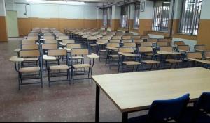 Una de las aulas de la EOI en su nueva sede.