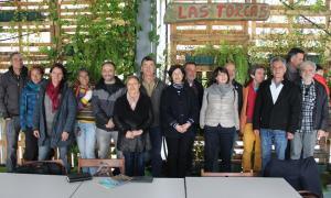 Reunión de Equo con grupos ecologistas en Órgiva.