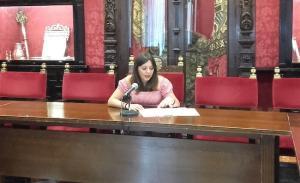 Jemi Sánchez, concejala de Derechos Sociales.