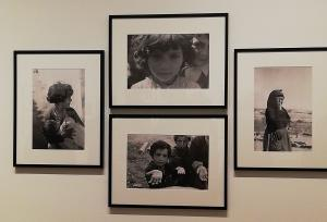 Detalle de la exposición de fotografías de Carlos Saura.