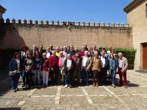 Representantes de colectivos memorialistas reunidos la pasada semana en Sevilla.