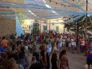 Una de las veladas de las fiestas de Alfacar.