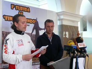 El concejal de Deporte y el director del Gimnasio Body Line.