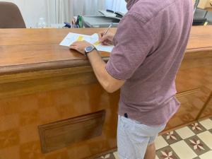 El municipio ha iniciado una recogida de firmas.