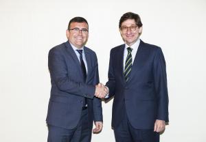 José Antonio Montilla y José Ignacio Goirigolzarri.