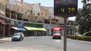 Imagen del verano pasado cuando la ola de calor.