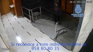 La Policía Nacional pide colaboración ciudadana para identificar a esta persona.