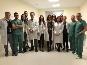 Equipo médico de Cirugía Oral y Maxilofacial.