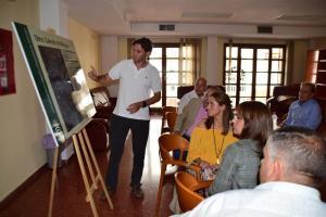 Explicación del proyecto en el Ayuntamiento de Molvízar.