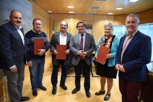 Responsables de Diputación y los municipios.