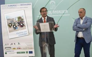 Presentación de los actos organizados por la Junta.