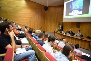 Presentación del proyecto a los municipios.