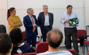 Junta y Federación Granadina de Fútbol presentan la iniciativa.
