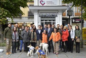 Las Hermanas Hospitalarias atienden a 400 personas con discapacidad en Granada.