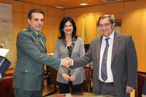La Guardia Civil ha firmado un convenio con Diputación.