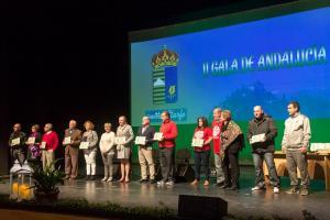 Premiados en Atarfe en la Gala del Día de Andalucía.