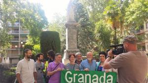 Granada Abierta en la Plaza de Mariana Pineda.