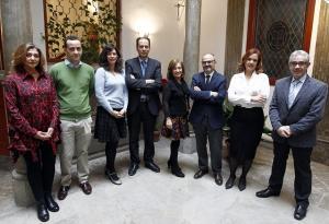 Miembros del nuevo grupo de especialistas en Derechos Humanos.