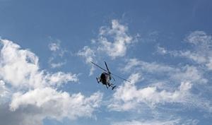 Imagen de archivo de un helicóptero de rescate.