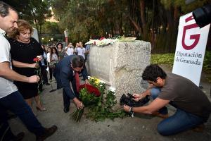 Imagen de archivo del homenaje en Alfacar.