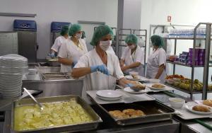 Cocina del Hospital Campus de la Salud.