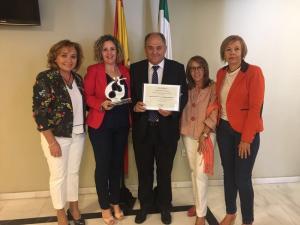 El alcalde ha recibido el premio en un acto celebrado en Córdoba.