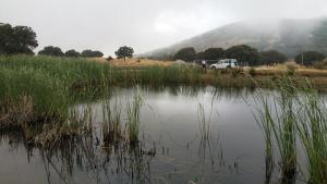 Laguna del Puerto de Zafarraya.