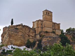 Iglesia de la Villa de Montefrío.