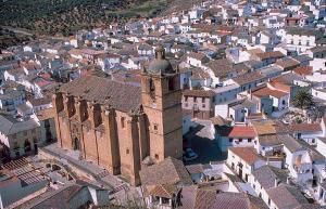 Iglesia de Íllora, donde se celebrará la boda.
