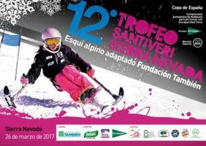 Cartel del Trofeo Santiveri.