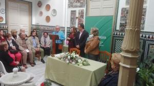 Recitales en la entrega de diplomas del VII Certamen de Poesía.