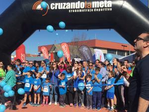 Inicio de la II Carrera por el autismo en Santa Fe.