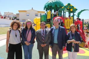Ayuntamiento y Diputación han colaborado en la reapertura del parque.