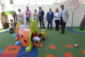 Visita a la escuela infantil Portal de Belén.