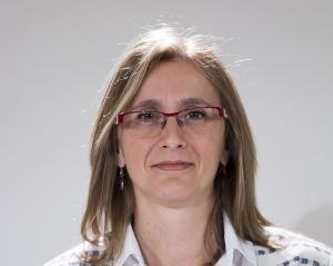 La secretaria de Políticas Sociales del PSOE de Granada, Isabel Abadía.