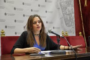 La concejala de Derechos Sociales, Educación y Accesibilidad en el Ayuntamiento de Granada, Jemi Sánchez.