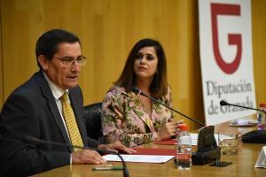 José Entrena e Irene Justo, en la presentación de'Con-secuencias'.