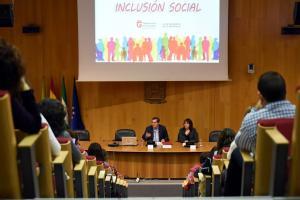 Sesión informativa del programa de inclusión social en la provincia.