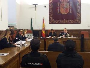 Imagen del juicio celebrado en la Audiencia de Granada.