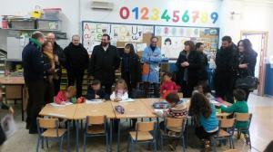 Visita al colegio La Ermita.