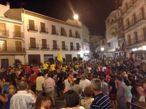 Mucho ambiente en la calle, como en esta imagen de una edición anterior.