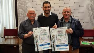 Eduardo Castillo con José Fernández Ocaña y Sebastián Rivera.