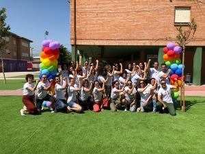 Equipo de docentes del CEIP San Isidro.