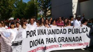 Manifestación del pasado 16 de octubre.