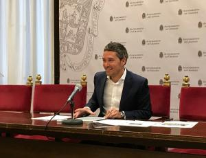 Manuel Olivares, este miércoles en rueda de prensa.