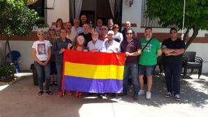 Representantes de la Asamblea Andaluza de Asociaciones Memorialistas.