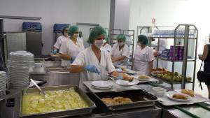 Cocina del Hospital del PTS.