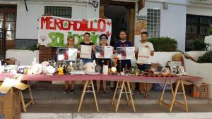 Mercadillo solidario en Lanjarón.