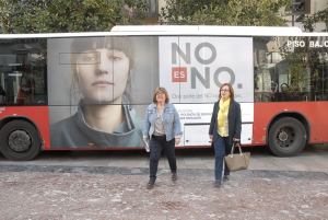 Presentación de la campaña contra la violencia machista.
